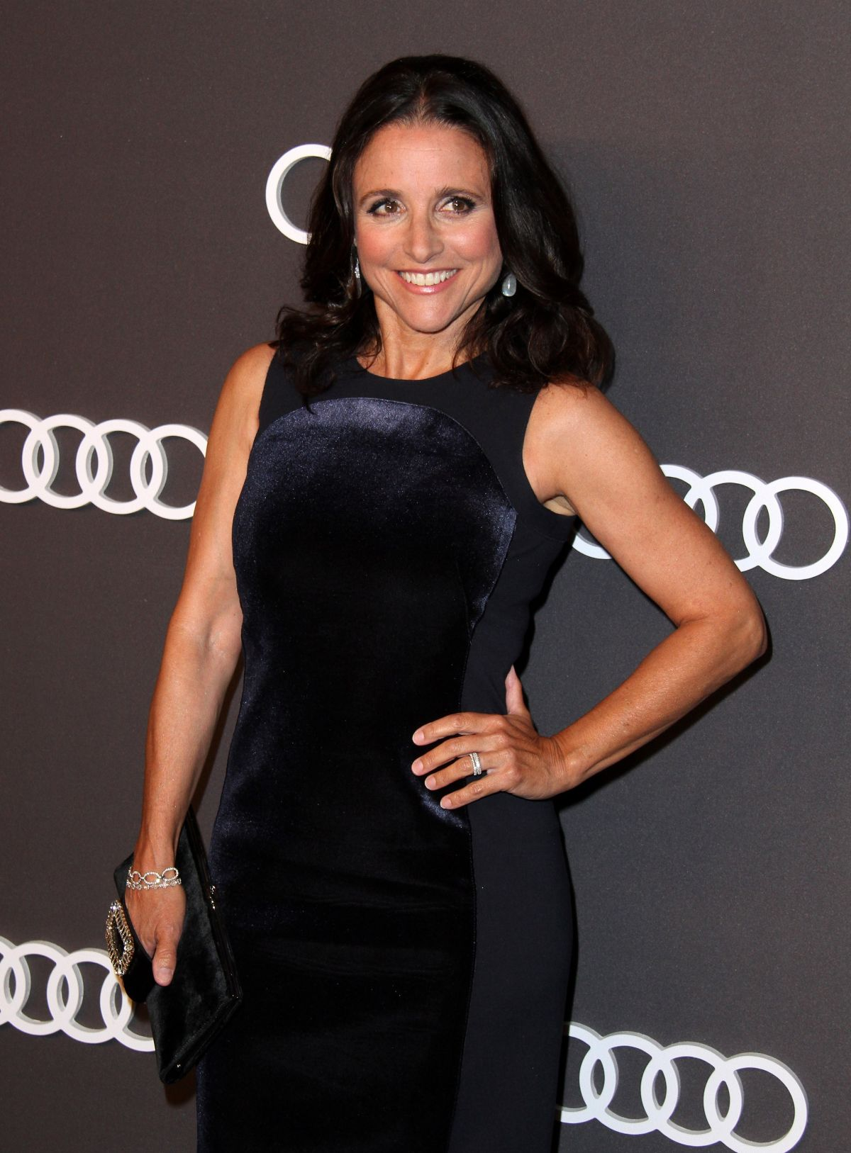 JULIA LOUIS-DREYFUS at Audi