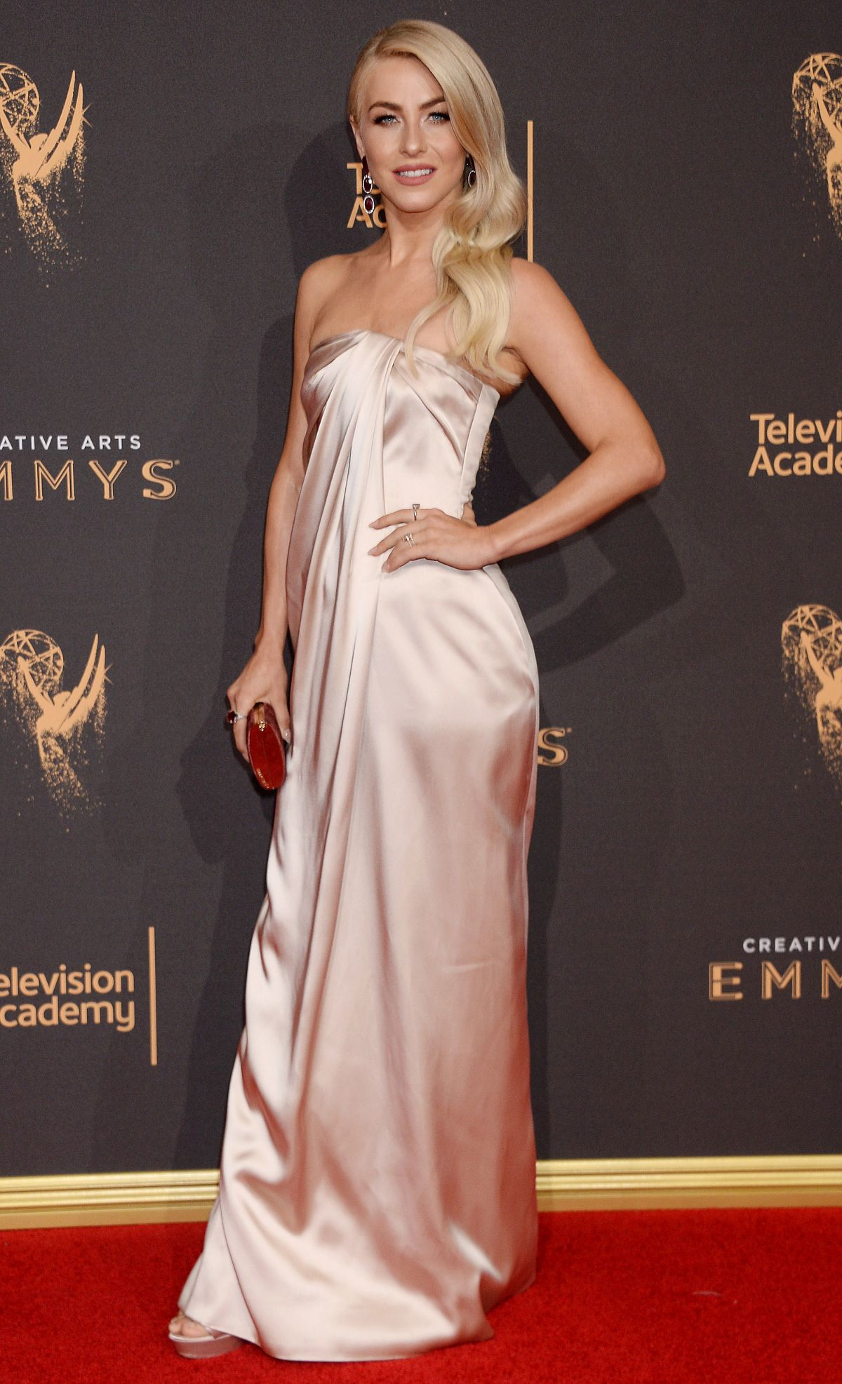JULIANNE HOUGH at 2017 Creative Arts Emmy Awards in Los Angeles 09/09/2017