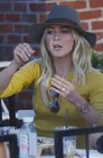 JULIANNE HOUGH at Alfred Coffee & Kitchen in Los Angeles 09/25/2017