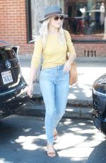 JULIANNE HOUGH at Coffee Break at Alfreds in West Hollywood 09/25/2017