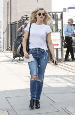 JULIANNE HOUGH in Jeans Heading to a Post Office in West Hollywood 09/20/2017
