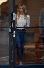 JULIANNE HOUGH Leaves a Dance Studio in Studio City 09/12/2017