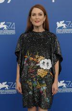 JULIANNE MOORE at Suburbicon Photocall at 74th Venice International Film Festival 09/02/2017