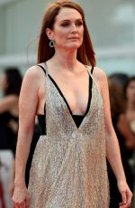 JULIANNE MOORE at Suburbicon Premiere at 74th Venice International Film Festival 09/02/2017
