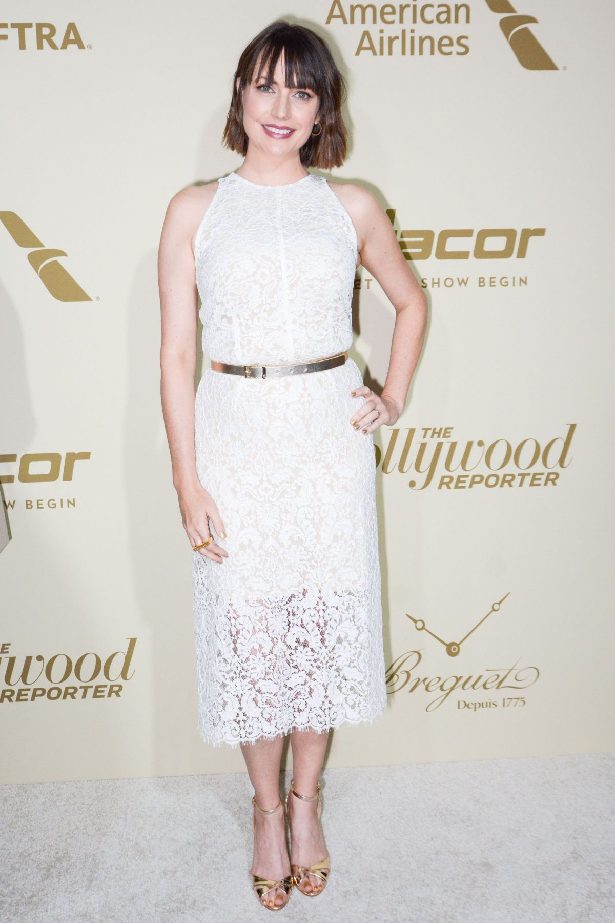 JULIE ANN EMERY at Hollywood Reporter and Sag-aftra Nominees Night in Beverly Hills 09/14/2017