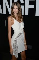KAIA GERBER at Alexander Wang Fashion Show in New York 09/09/2017