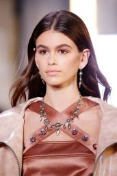 KAIA GERBER at Bottega Veneta Fashion Show in Milan 09/23/2017