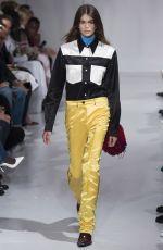 KAIA GERBER at Calvin Klein Runway Show in New York 09/07/2017