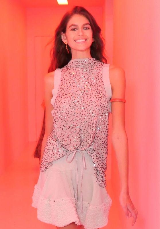 KAIA GERBER at Chloe Fashion Show at Paris Fashion Week 09/28/2017