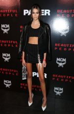 KAIA GERBER at Paper Magazine Beautiful People Release Party in New York 09/12/2017