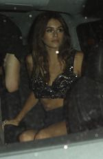 KAIA GERBER Celebrates Her 16th Birthday at Delilah in West Hollywood 09/02/2017