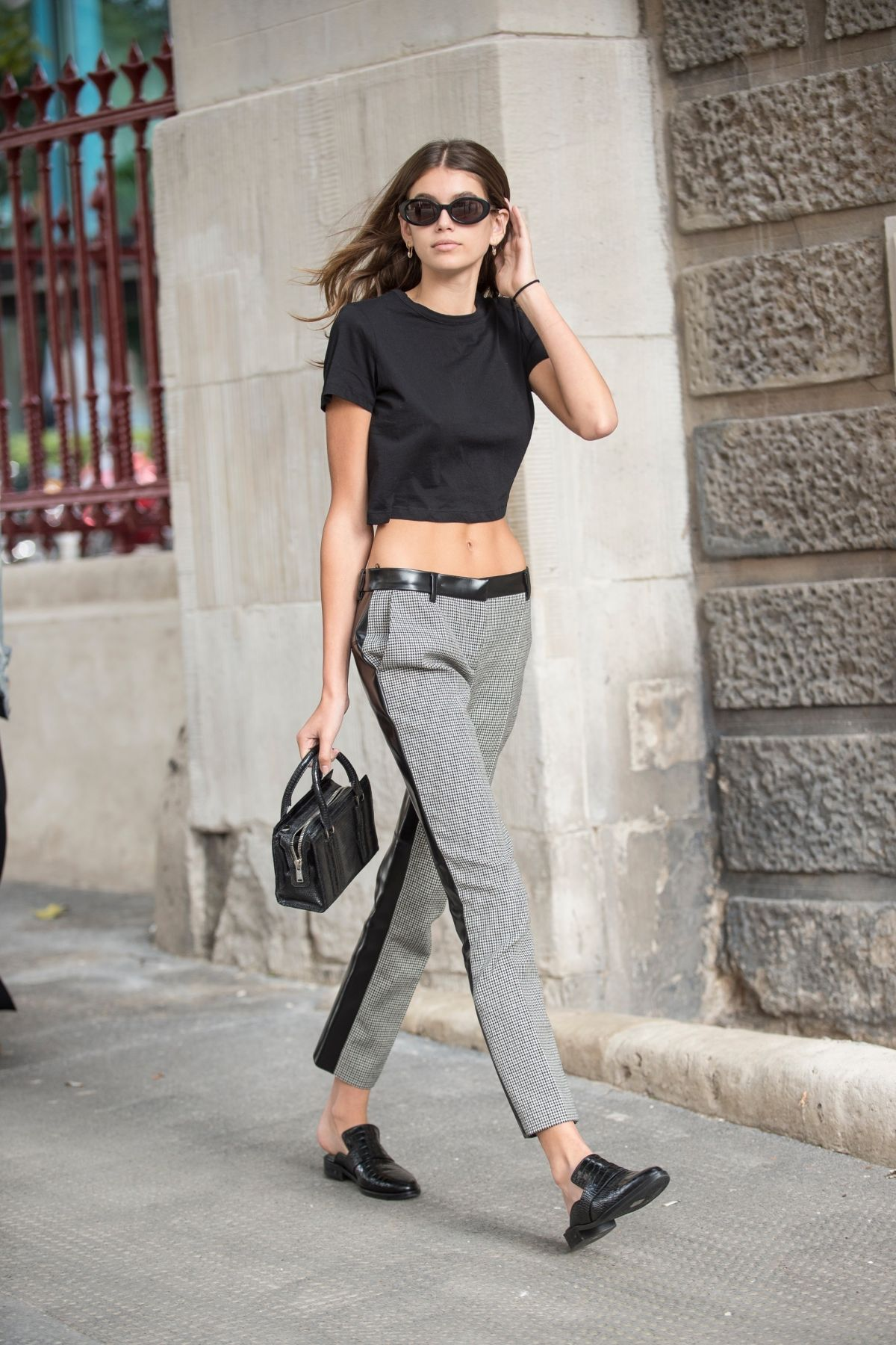 KAIA GERBER Out and About in London 09/16/2017