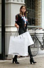 KAIA GERBER Out Shopping in New Yrok 09/06/2017