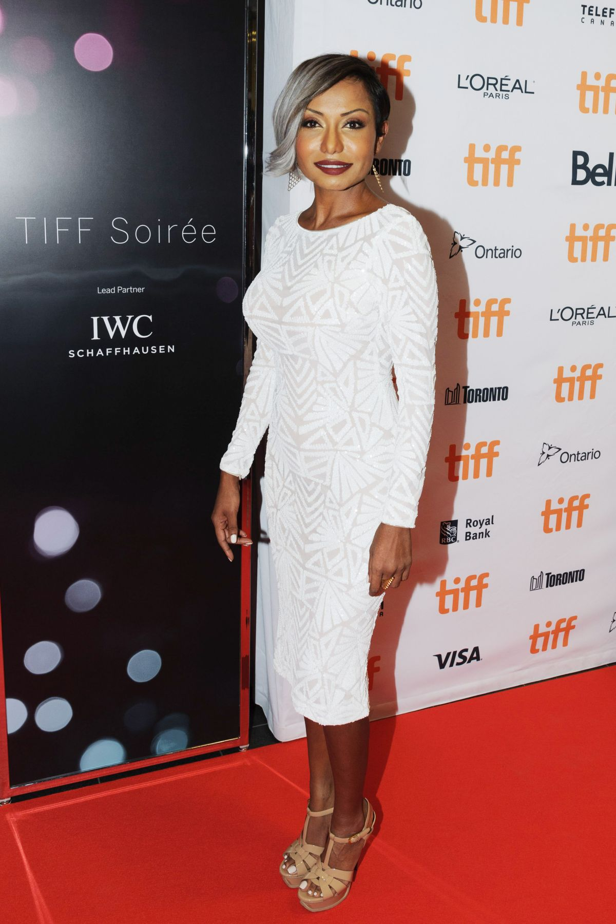 KALISTA ZACKHARIYAS at 2017 Toronto International Film Festival Soiree 09/06/2017