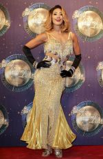 KAREN CLIFTON at Strictly Come Dancing 2017 Launch in London 08/28/2017