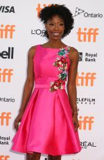 KARIMAH WESTBROOK at Suburbicon Premiere at Toronto International Film Festival 09/09/2017