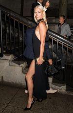 KARLIE KLOSS Arrves at Tom Ford Fashion Show at New York Fashion Week 09/06/2017
