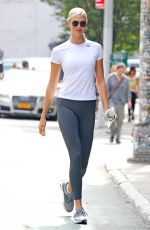 KARLIE KLOSS at a Gym in New York 09/12/2017