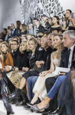 KARLIE KLOSS at Christian Dior Fashion Show in Paris 09/26/2017