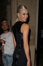 KARLIE KLOSS at Her Hotel in Paris 09/28/2017