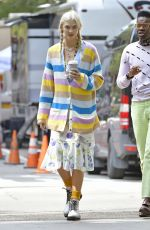 KARLIE KLOSS on the Set of a Photoshoot in New York 09/07/2017