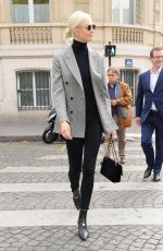 KARLIE KLOSS Out and About in Paris 09/27/2017
