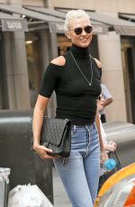 KARLIE KLOSS Out in New York 09/05/2017