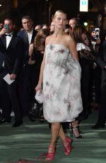 KAROLINA KURKOVA at Green Carpet Fashion Awards in Milan 09/24/2017