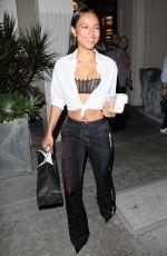 KARREUCHE TRAN Leaves Mastro's Restaurant in Beverly Hills 09/07/2917