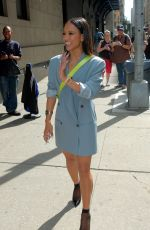 KARRUECHE TRAN Arrives at Wendy Williams Show in New York 09/21/2017