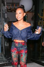 KARRUECHE TRAN at Catch LA in West Hollywood 09/18/2017