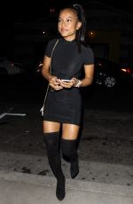 KARRUECHE TRAN Night Out in Hollywood 09/01/2017