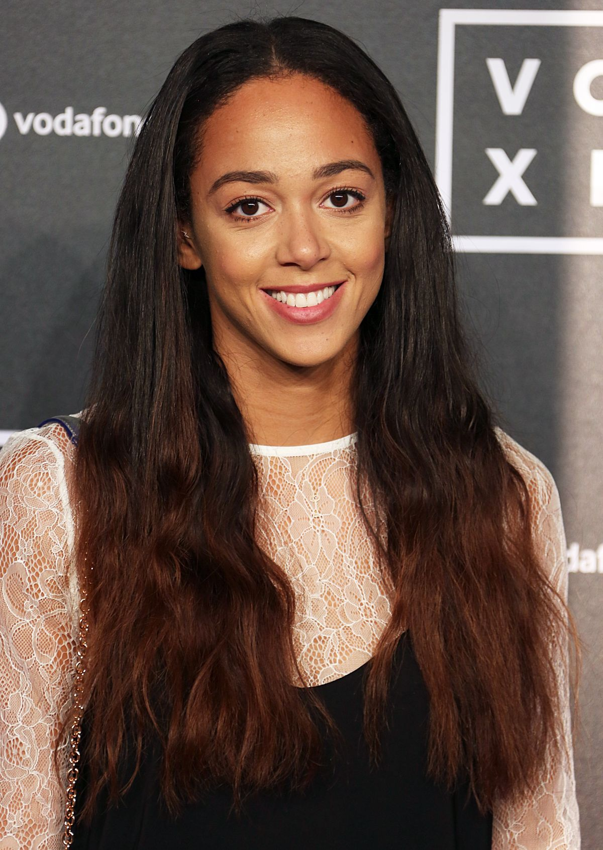 KATARINA JOHNSON-THOMPSON at Voxi Launch Party in London