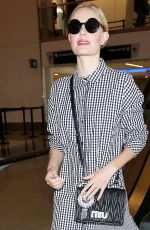 KATE BOSWORTH at LAX Airport in Los Angeles 09/09/2017