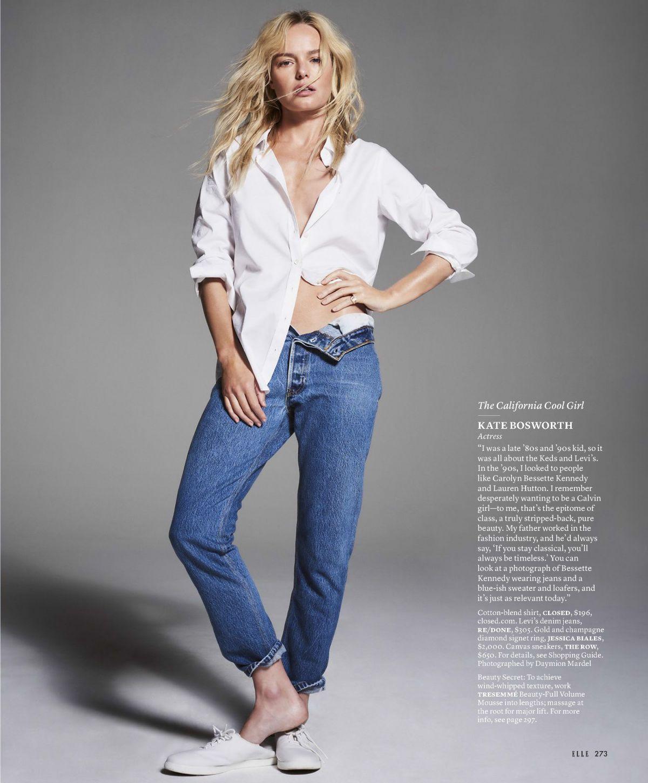 KATE BOSWORTH for Elle Magazine, October 2017
