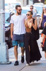 KATE HUDSON and Danny Fujikawa Out in New York 09/24/2017