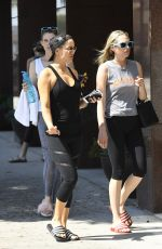 KATE HUDSON Heading to a Gym in Brentwood 09/02/2017