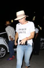 KATE HUDSON Out for Dinner at Giorgio Baldi in Santa Monica 09/03/2017