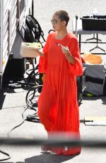 KATE HUDSON Out for Lunch on the Set of Sister in Los Angeles 09/06/2017