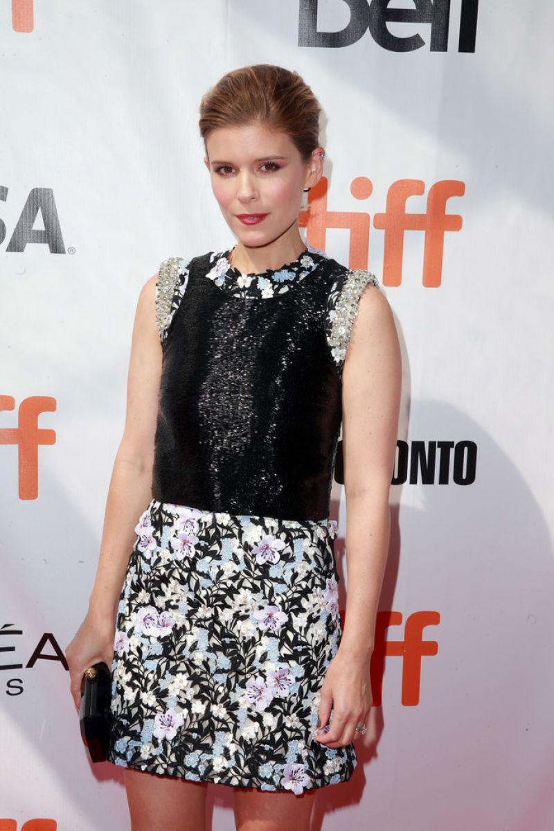 KATE MARA at Chappaquiddick Premiere at 2017 Toronto International Film Festival 09/10/2017