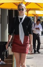 KATE UPTON at Honor Bar in Beverly Hills 09/27/2017