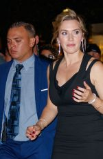 KATE WINSLET Arrives at Times Talk in New York 09/27/2017