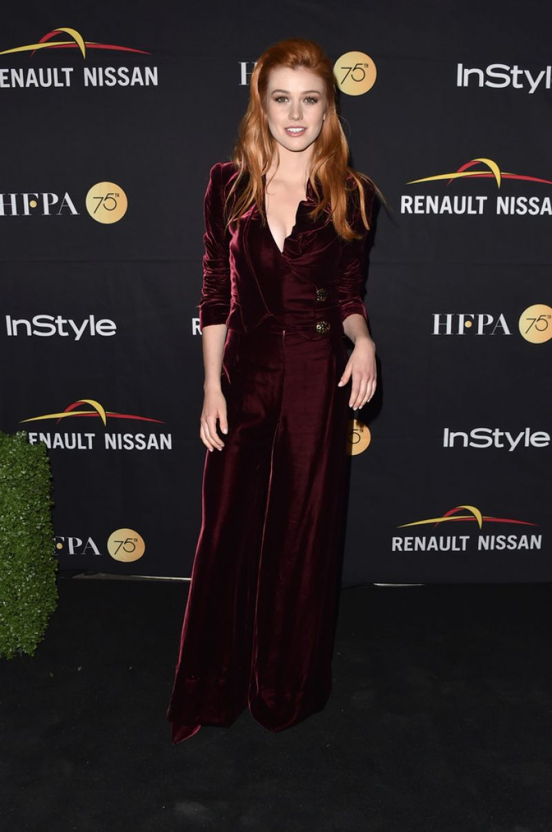 KATHERINE MCNAMARA at hfpa & Instyle Annual Celebration of 2017 TIFF 09/09/2017