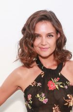 KATIE HOLMES at Adam Dalton Blake, Tiffany Huang, Ghazaleh Khalifeh Fashion Show in New York 09/07/2017
