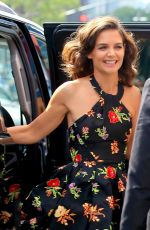KATIE HOLMES Out and About in New York 09/07/2017