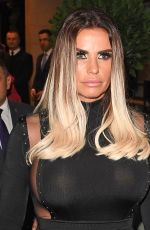 KATIE PRICE at TV Choice Awards in London 09/04/2017