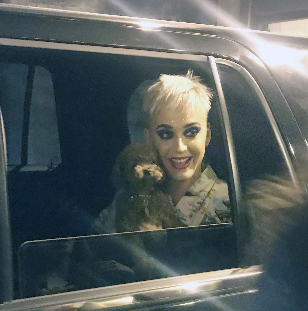 KATY PERRY Leaves Bell Centre Arena in Montreal 09/20/2017