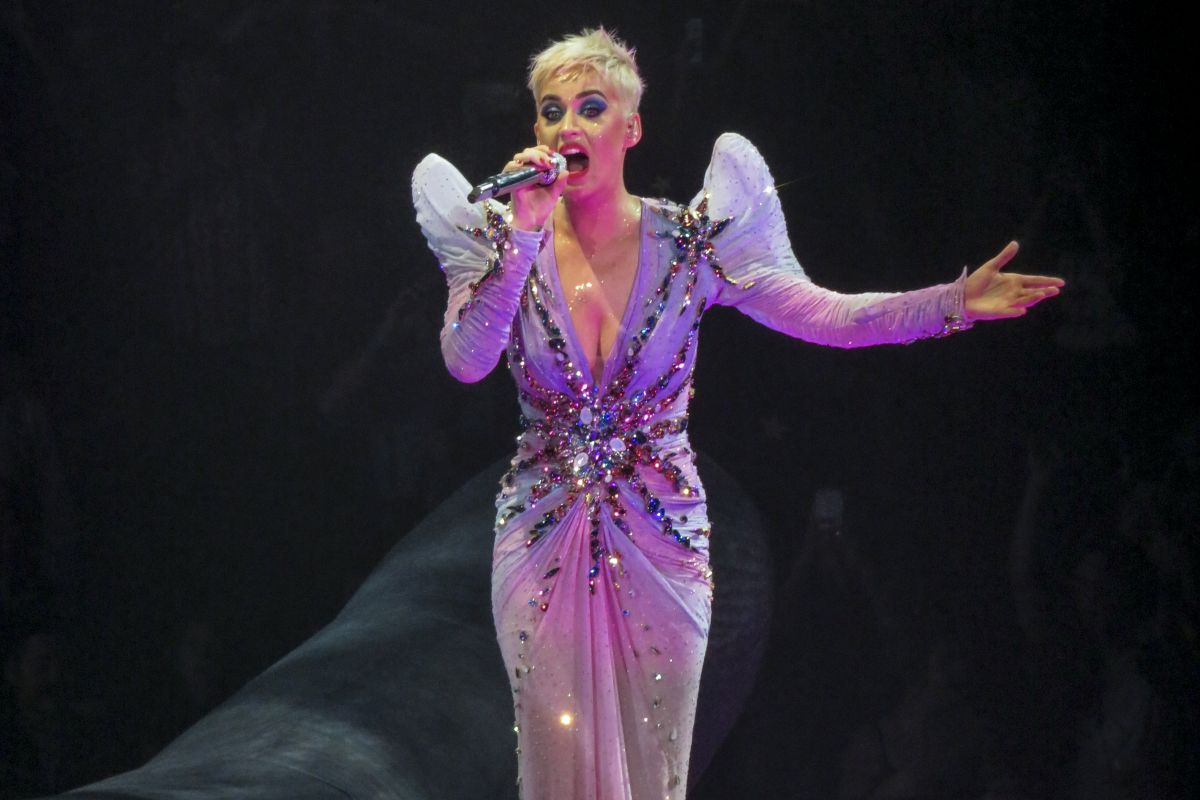 KATY PERRY Performs at Witness Tour in Montreal 09/19/2017 ... Katy Perry Tour