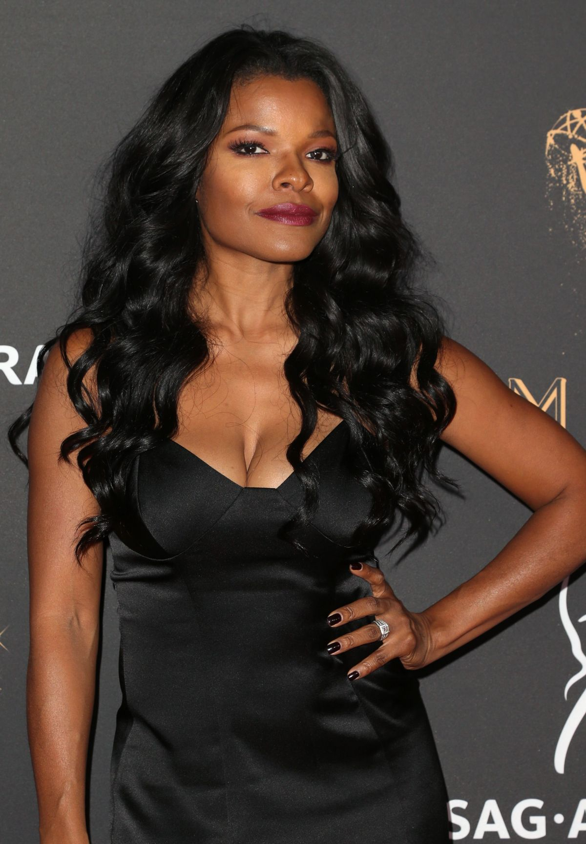 KEESHA SHARP at Dynamic & Diverse Emmy Reception in Los Angeles 09/12/2017