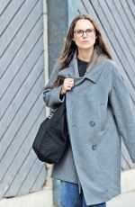 KEIRA KNIGHTLEY Out and About in London 09/12/2017 ...